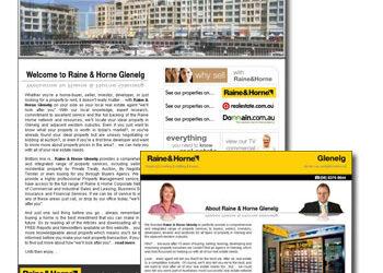 Raine & Horne Glenelg Web Design Released