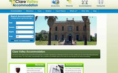 Clare Valley Accommodation